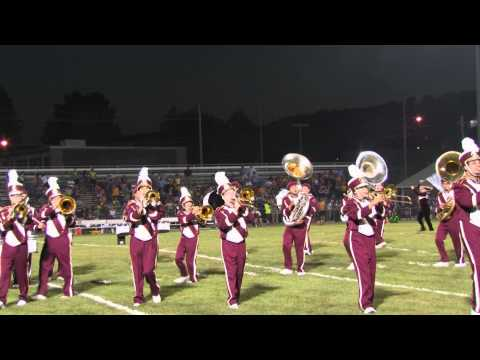 2012 Lehighton Area High School Marching Band - Mr. Roboto 1.mpg