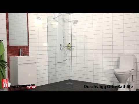 Inr duschvägg