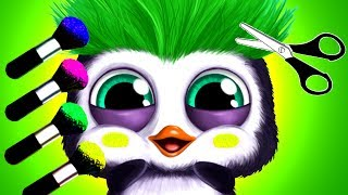 Fun Baby Animal Hair Salon 3 | Kids Care Games to learn Colors with Jungle Animals Kids Games