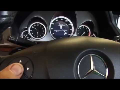 DIY W212 MERCEDES E350 Oil Change reset service indicate A OR B