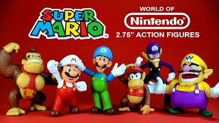 "Super Mario 2.75"" Action Figures World of Nintendo Series 1 JAKKS Pacific"