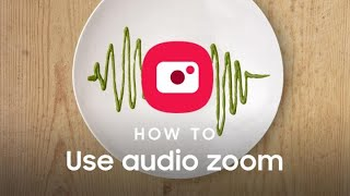 Galaxy Note10: How to use the Zoom-In Mic | Samsung