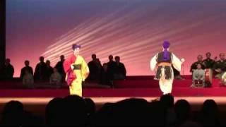 琉球舞踊「加那ヨー天川」