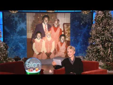 Ellen Found Some Bad Holiday Photos!