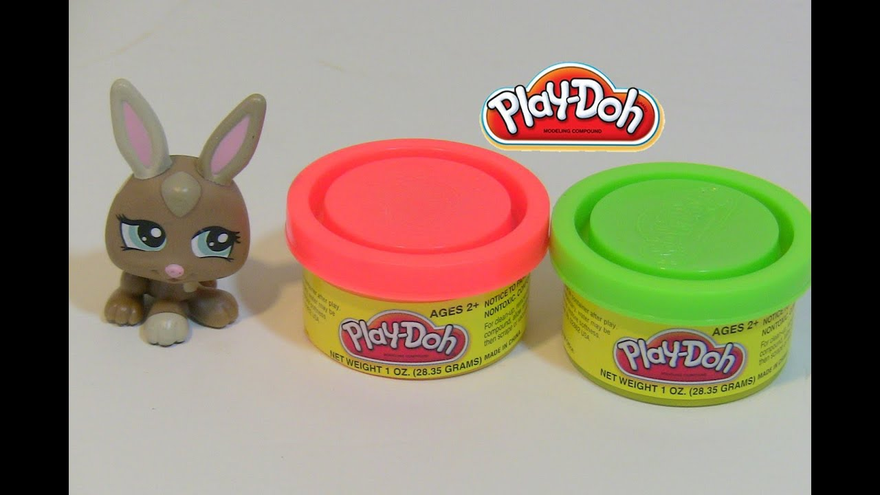 Littest pet shop play doh how to make food for your pet for Play doh cuisine