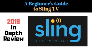 Sling TV Review 2019 - Beginner's Guide to Watching TV on Sling - filled with tips!