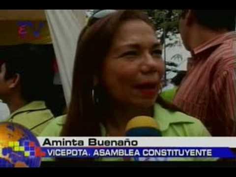 Buenaño negó cambios Proyecto Constitucional