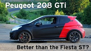208 GTi by Peugeot Sport - Road, Nürburgring & Autobahn Review - Everyday Driver Europe