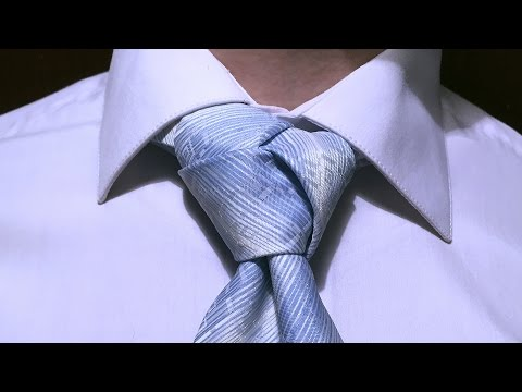 Как завязать галстук – Узел Тринити