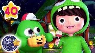Monster Dance Halloween Special | Baby Shark Dance + More Nursery Rhymes | Little Baby Bum