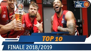 Finale 2018/19 | MagentaSport Top 10 | easyCredit Basketball Bundesliga