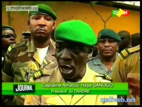 Le Capitaine Amadou Aya Sanogo rencontre les militaires du camp Sékou Amadou de Ségou