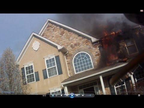 Windswept Farm Development House Fire - 4/22/2014
