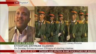 Government Communication Affairs Office Minister Getachew Reda talks to BBC about Ethio Eritrean ten