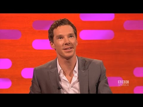 "Benedict Cumberbatch does a Jar Jar Binks impression, shows us the voice of Smaug and can't say the word 'penguins'. ""Pengwings."" Don't miss an all new episo..."