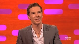 benedict cumberbatch cant say penguins   the graham norton show on bbc america