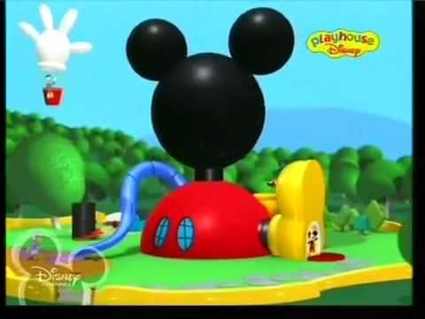 Mickey Mouse'S Clubhouse - Opening(Romanian Language)