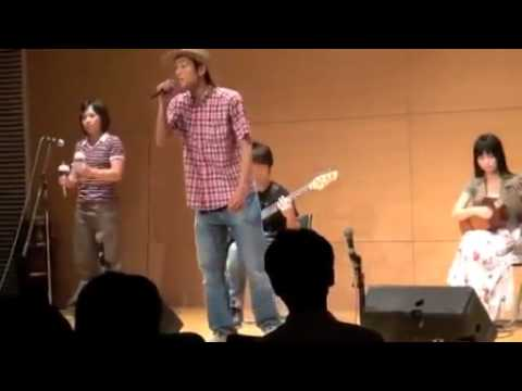 Japoneses cantando musica llanera