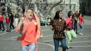 FIRST INTERNATIONAL BOLLYWOOD FLASH MOB - SLOVENIA