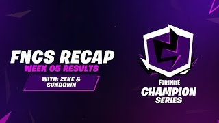 Fortnite Champion Series: Week 5 Recap