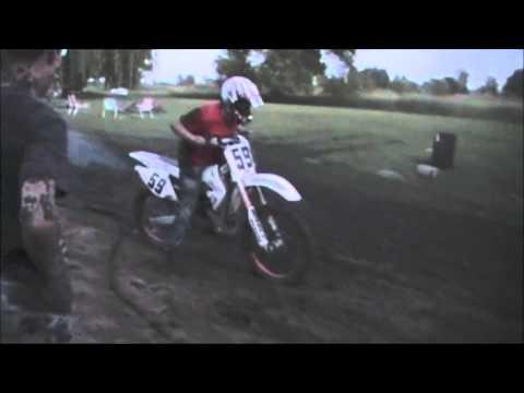 dirt bike mudding crash