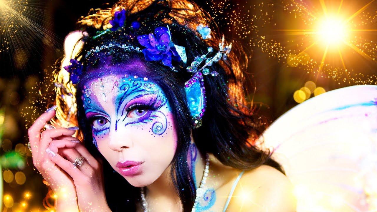 Dark fairy makeup