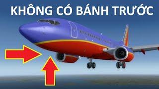 Tai nạn máy bay_ Bánh máy bay không hạ_ B737 landing without nose gear
