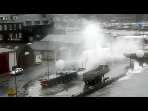 Wick Storm 15th December 2012 compilation