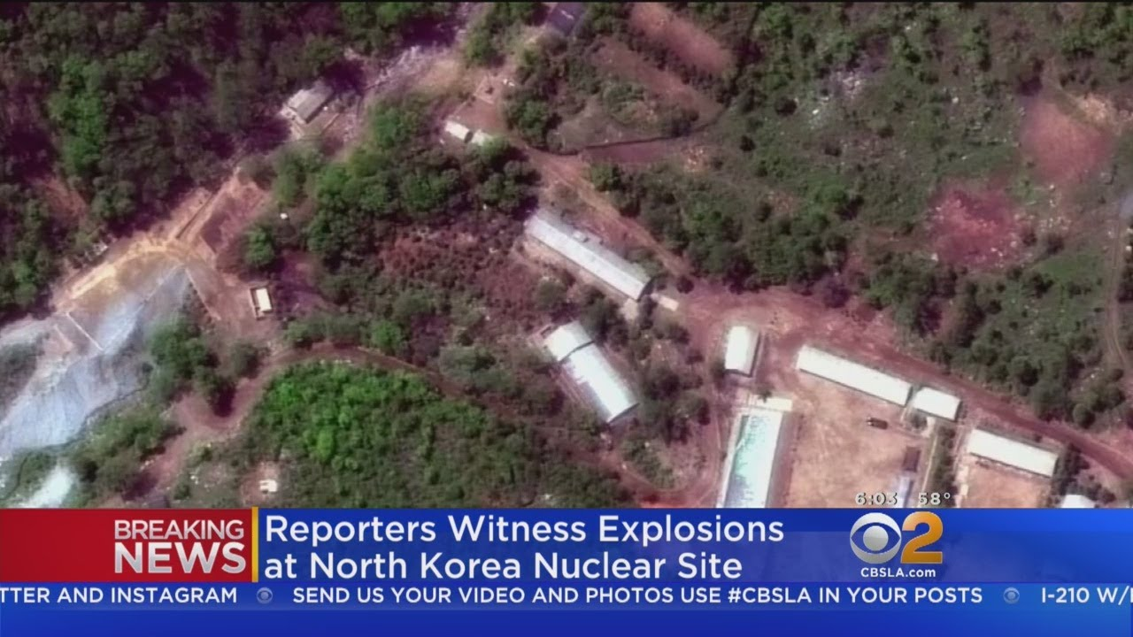 North Korea Says They Have Destroyed Nuclear Test Site