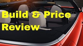 2019 BMW 440i xDrive Convertible w/M-Sport - Build & Price Review: Engine, Specs, Packages, Colors