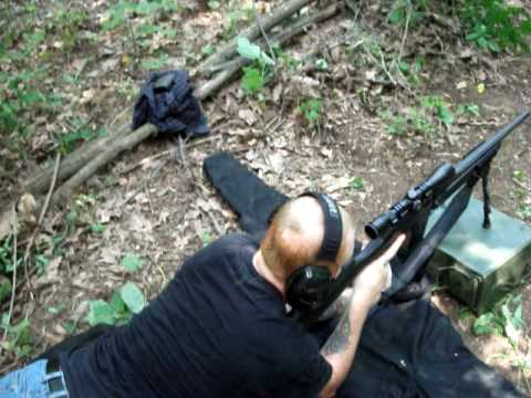 Shooting The FNAR Sniper Rifle.