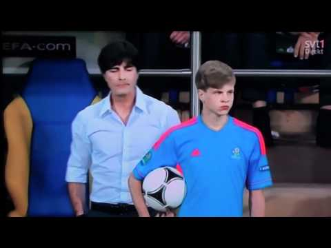Joachim Loew and Ball Boy (Euro 2012) HILARIOUS (FULL HD) Germany vs. Netherlands (FUNNY JOKE)