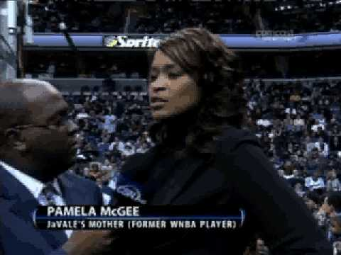 Inteview with JaVale McGee's mom, Pamela Video