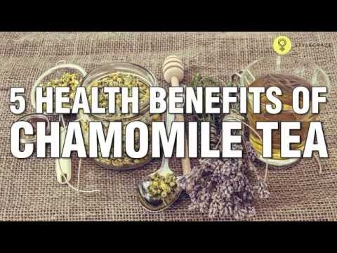 6 Amazing HEALTH BENEFITS OF CHAMOMILE TEA