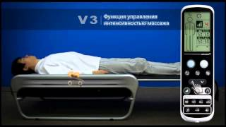 Интенсивность массажа Ceragem Master V3