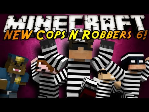Minecraft Mini-Game : THE NEW COPS N ROBBERS ROUND 6!