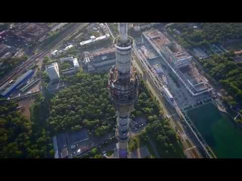 Ostankino TV tower :: DJI Phantom 4