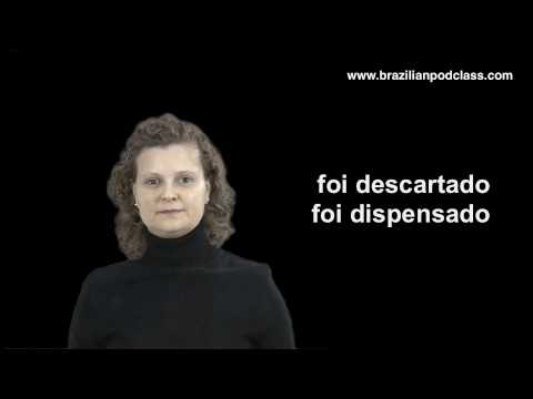 Learn Portuguese - Video 10 - Brazilian Body Language