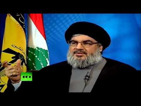 WikiLeaks' Assange interviews Hezbollah's Nasrallah on Russian TV