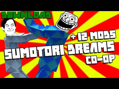สอนดาวโหลดเกม Sumotori Dream + 12 mod (เล่นได้2คน)