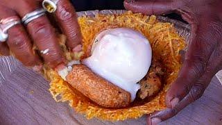 Ấn Độ mon ăn đường phố - đặc biệt snack giỏ chiên