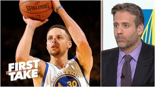 As long as Steph Curry is with the Warriors, Golden State won't miss the playoffs | First Take