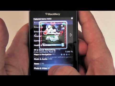 BlackBerry Torch 9800 İncelemesi