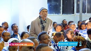 Father Called The Prophet In Congregational -   With Man Of God Prophet Tamrat Demsis