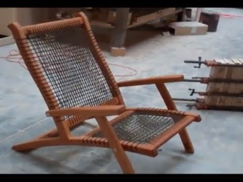 One And Only Paracord Chair Youtube