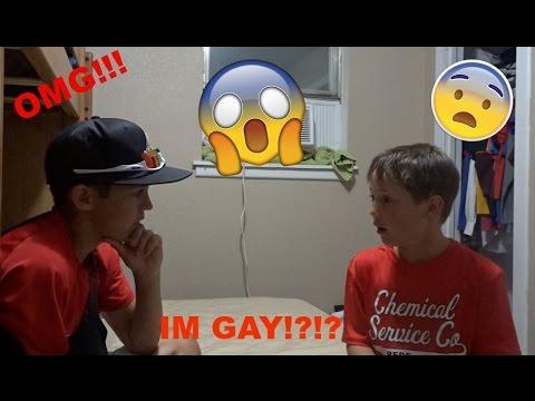 TELLING MY BRO IM GAY!! (PRANK) (GONE EMOTIONAL)