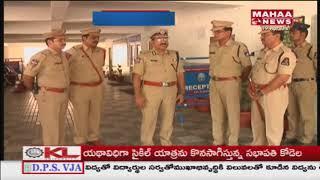 Kerala CM Pinarayi Vijayan Inspects Panjagutta Police Station