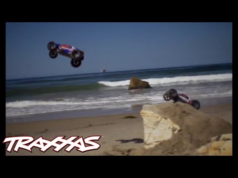 Rustler and Jato 3.3: A Day at the Beach   Traxxas
