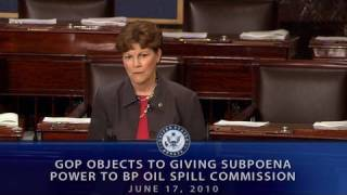GOP Objects to Giving Subpoena Power to BP Oil Spill Commission