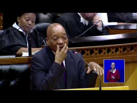 Laughing Zuma's pay back the money remix